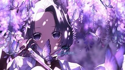 Slayer Demon Shinobu Butterfly Kochou Anime Kimetsu