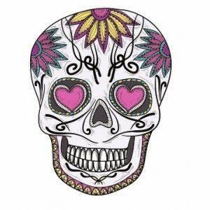 Tete De Mort Fleur : t te de mort fleur skeleton heads calaveras pinterest t te de mort tete de et en t te ~ Mglfilm.com Idées de Décoration