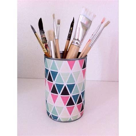 pot 224 crayon geometric original et d 233 coratif pour 233 gayer votre bureau 224 la rentr 233 e crayons