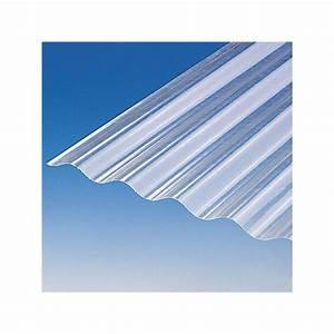 Plaque Ondulée Pour Toiture : plaque polyester ondul e toit translucide po 76 18 ~ Premium-room.com Idées de Décoration