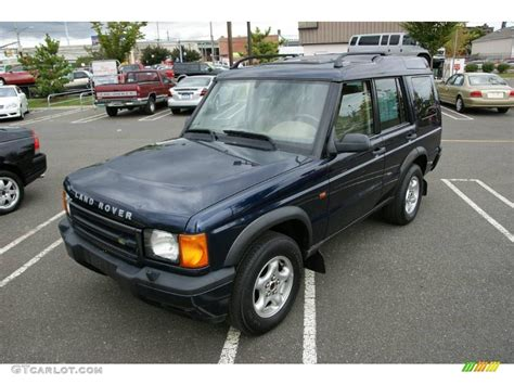 blue land rover discovery 2000 oxford blue land rover discovery ii 19005106