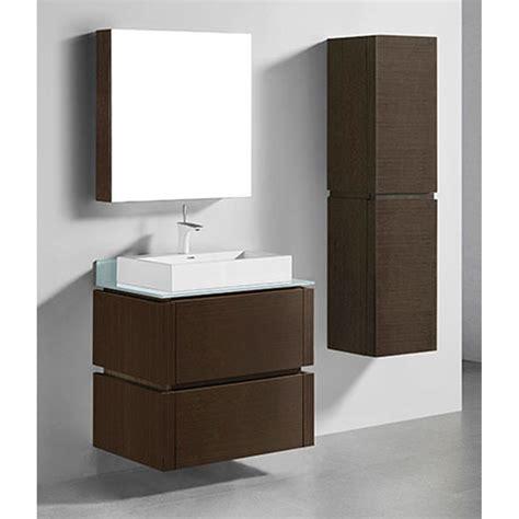 madeli cube  wall mounted bathroom vanity  glass