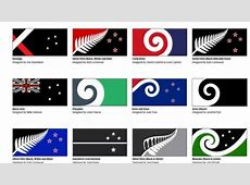 A list of 40 possible alternative flags, chosen from
