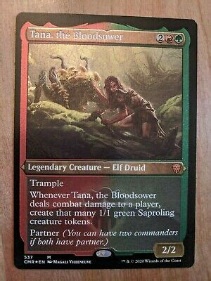 I also provide some tips for storage, to help ensure that you. MTG Card: Tana, the Bloodsower FOIL ETCHED   eBay