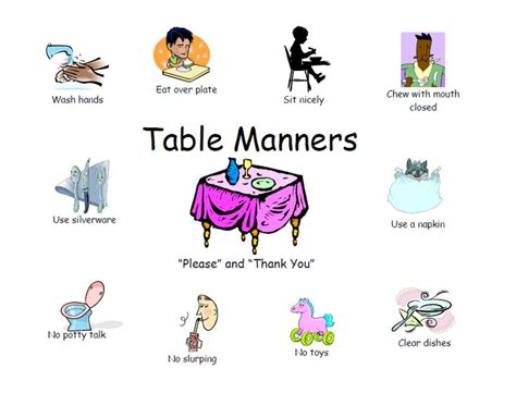 1000 images about table manners on bmw flatware and manners