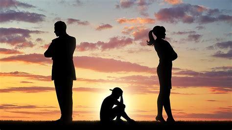 divorces  equal  childrens longterm health