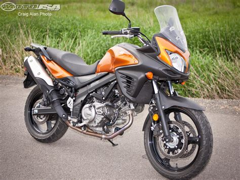 2012 Suzuki V-strom 650 Abs Comparison Photos
