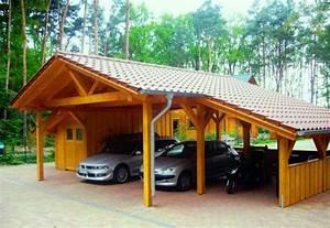 Carport Terrasse Kombination : spitzdach carport nach ihren w nschen premium carportwerk ~ Somuchworld.com Haus und Dekorationen