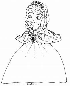 Sofia The First Coloring Pages March 2019