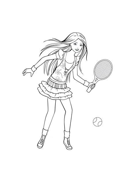ausmalbilder malvorlagen tennis kostenlos zum