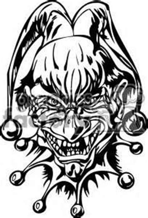 skull clown tattoo designs | Gang Tattoos & Gangster