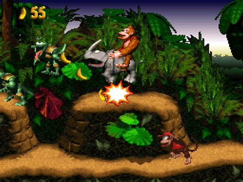 donkey kong country snes review gaming history