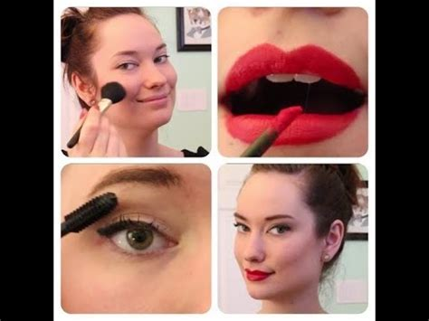 everyday pinup makeup tutorial  rachel dixon retro
