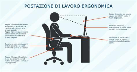 Postura Corretta Scrivania by Sedie Da Ufficio Il Meglio Per Una Postura Corretta