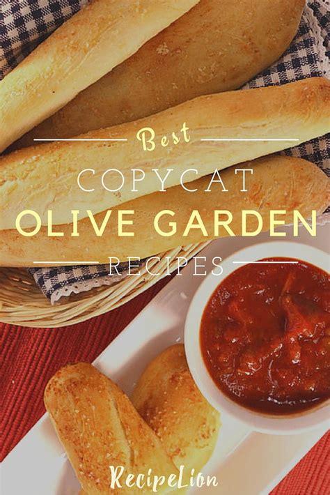 olive garden copycat recipes 16 favorite olive garden copycat recipes recipelion