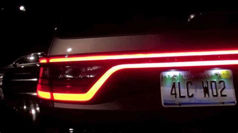 dodge durango racetrack tail lights youtube