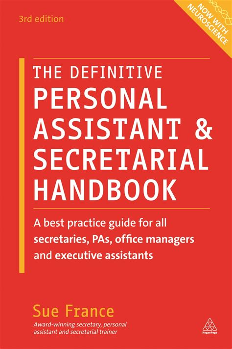 definitive personal assistant secretarial handbook