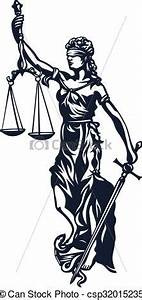 Vectors of Femida lady justice - Femida - goddess lady ...
