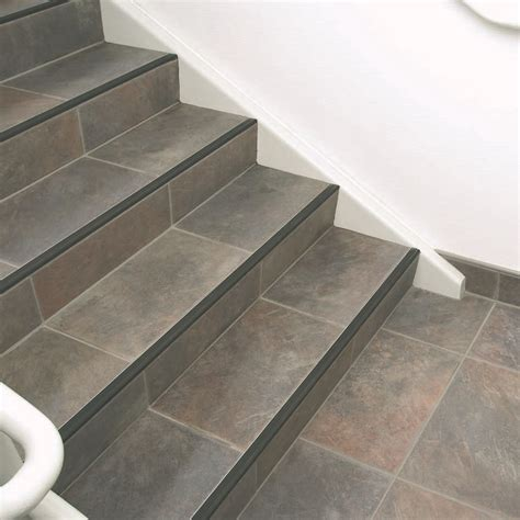 tile stair nosing profile the benefits of stair nosing profiles