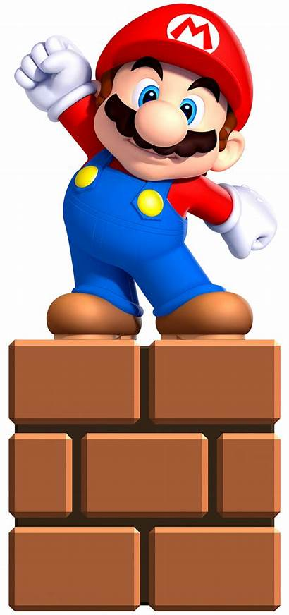 Mario Super Bros Mini Character Clipart Party
