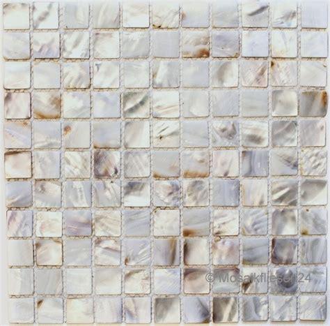Fliesen Farbe Perlmutt by Mosaik Fliesen Perlmutt Weiss