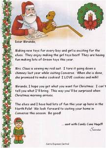 santa letters phone calls order With return letter from santa