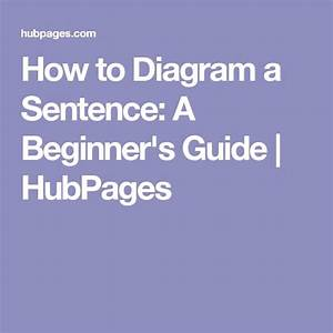 How To Diagram A Sentence  A Beginner U0026 39 S Guide  With Images