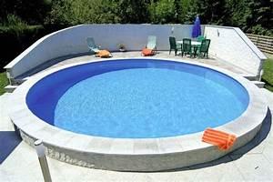poolrundrundpool350x120 cmstahlwandpoolbasic With französischer balkon mit pool garten rund