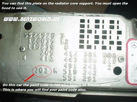 Mercedes obsidian black 197/9197 paint touch up brush scratch chip repair. Mercedes Paint Codes - Car Touch Up Paint - Car Paint
