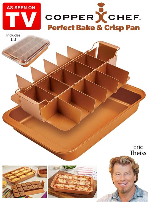 copper chef perfect bake  crisp pan drleonardscom
