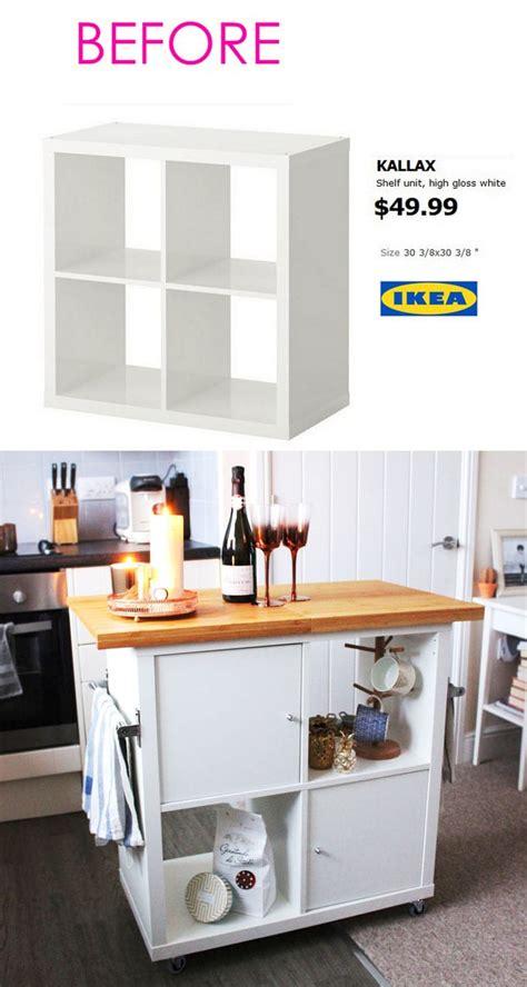 ikea hacks kitchen island 20 smart and gorgeous ikea hacks great tutorials 4442