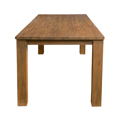 edmonton contemporary reclaimed teak wood rectangle large
