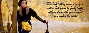 Best Feeling Quote Girl Cover Photos
