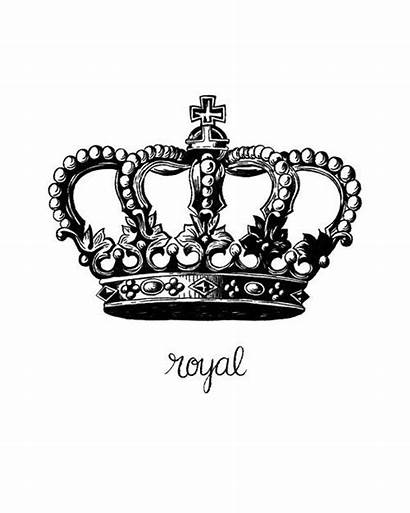 Royal Crown Queen King Symbol Royalty Printable