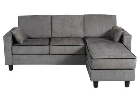 canaper conforama canapé d 39 angle réversible 3 places en tissu logan coloris