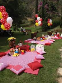 Picnic Birthday Party Decorations