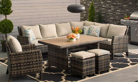Small Patio Furniture by How To Choose Patio Furniture For Small Spaces Overstock