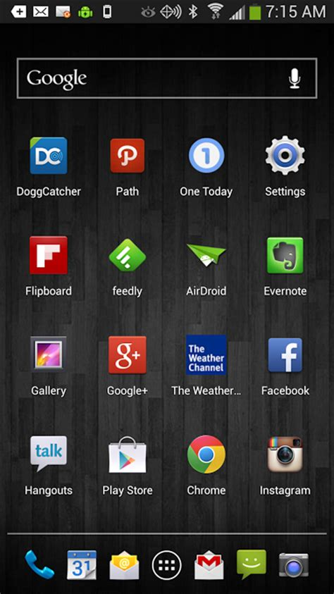 android home screen apps my samsung galaxy s4 homescreen and apps