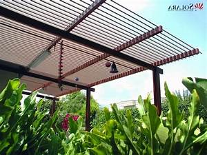 Pergola Aluminium En Kit : aluminum pergola kits with adjustable louvers pergola ~ Edinachiropracticcenter.com Idées de Décoration