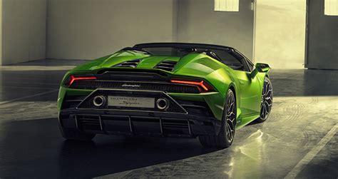 Lamborghini Huracan Evo Spyder เปิดประทุน 17 วิ