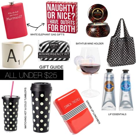 28 best christmas gifts 25 dollars holiday gift guide