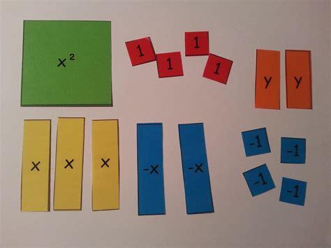 pictures on algebra tiles worksheets free valentine