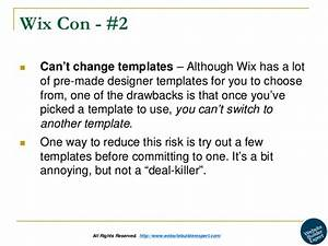 wix review With how to change wix template