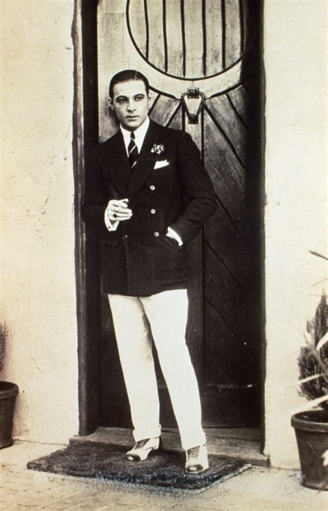 Rudolph Valentino Timeless Style Mens Fashion