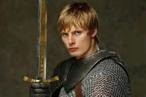 King Arthur and Excalibur Merlin