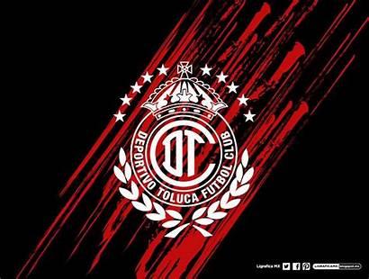 Toluca Fc Deportivo Futbol Diablos Rojos Soccer