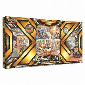2017 Pokemon Trading Cards Mega Evolution Ex Box Featuring ...