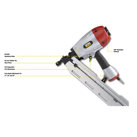 Central Pneumatic Floor Nailer Troubleshooting by 3 In 1 Air Framing Nailer 10