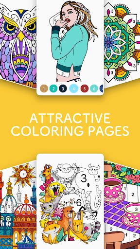 download paint ly color by number fun coloring art book