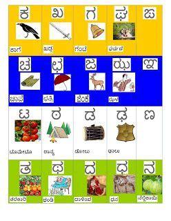learn kannada worksheets kannada learning